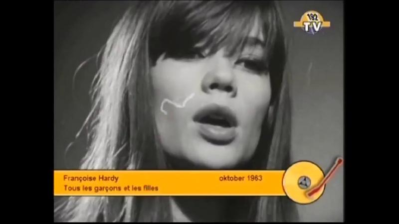 Francoise Hardy Tous les garcons et les filles Video 1964 Stereo Rebroadcast 192 TV