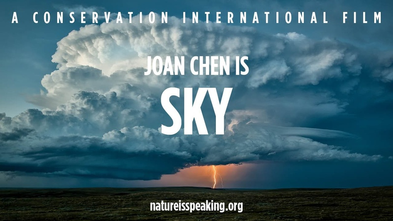 Nature Is Speaking Joan Chen is Sky   Conservation International (CI)