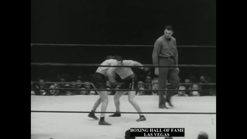 Barney Ross Beats Jimmy McLarnin III. May 28, 1935 Regains Crown (Ref. J. Dempsey)