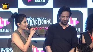 Barun Sobti, K K Menon's  Webseries Launch The Great Indian Dysfunctional Family