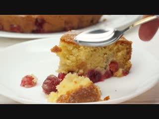 Простой и Невероятно Вкусный! Царский Вишневый Пирог! | Больше рецептов в группе Десертомания