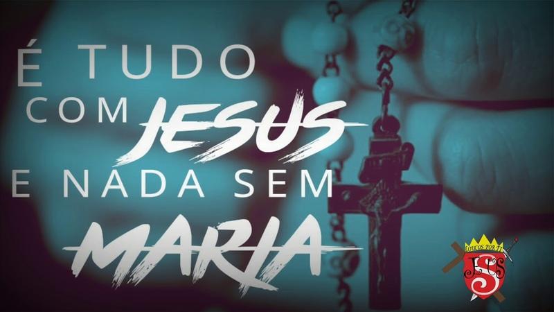 É Tudo com Jesus e Nada sem Maria (Rap Católico) - (Official Music)