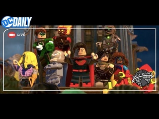 DC Daily : LEGO DC SUPER-VILLAINS, CW's ELSEWORLDS, and a behind the scenes look at TITANS!