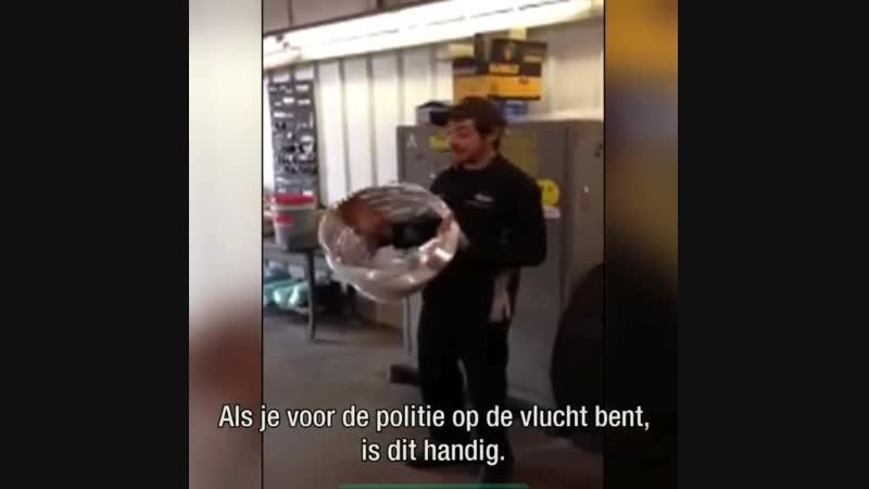 Jak se rychle schovat před policií.