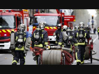 Soldats du feu french firefighters 2018