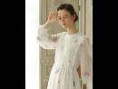 LYNETTE'S CHINOISERIE Spring Autumn Original Design Women Cherry Blossom Embroidery French Romantic Vintage Mori Girls Dresses