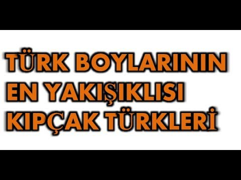Türk Boylarının En Yakışıklısı Kıpçaklar Hakkında 10 bilgi (Taner Hoca)