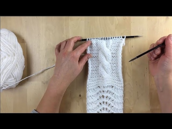 6.Как связать простой жгут Жгуты Косы Вязание спицами Уроки вязания для начинающих