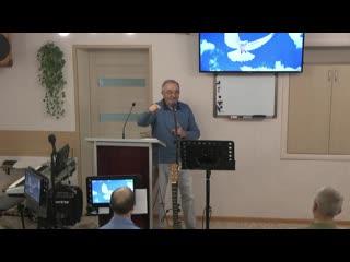 Воскресное Служение брат Арунас и Сергей  г.Донской ()