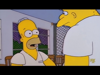 Michael jackson and homer call bart the simpsons [nr]