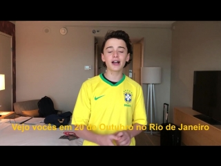 Stranger con - recado do noah schnapp, o will de stranger things para os fãs do brasil