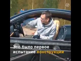 Роскошное купе превращается в... танк! Это чудо российского автотюнинга лучше один раз увидеть...