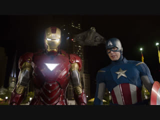 "Iron Man & Captain America  - ""Легенды никогда не умирают"""