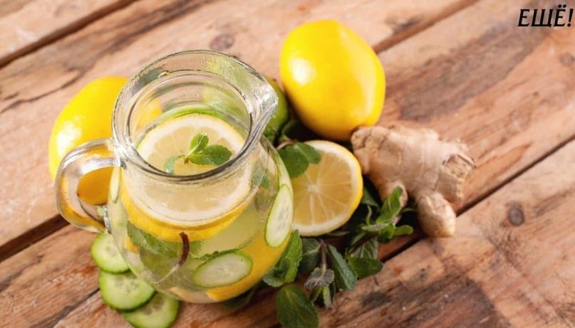 имбирь огурец лимон для похудения отзывы