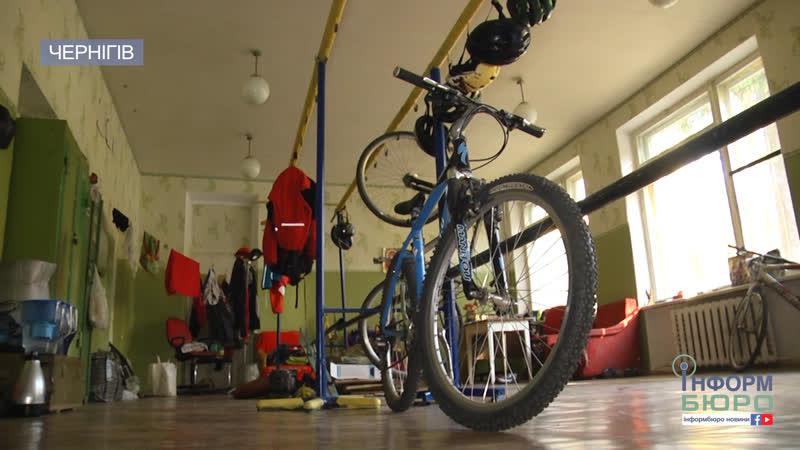 Крадіжка серед білого дня у Чернігівській спортшколі зникли…велосипеди