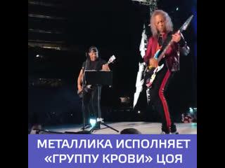 Metallica Группа крови cover в Лужниках  Москва 24