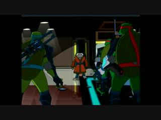 TMNT 2003 [ENG] 6 сезон 3 серия Home Invasion [1080p]