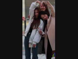 "[Fancam] 181111 ELRIS (Sohee) @ Мини-фанмитинг после ""Inkigayo"""