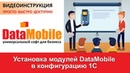 DataMobile Урок №4 Установка модулей DataMobile в конфигурацию 1С