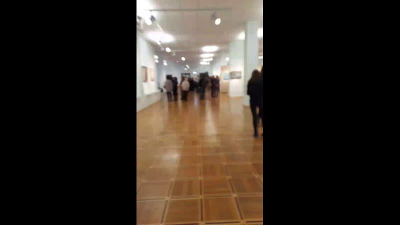 Открытие выставки Арт-транзит в Национальной художественной галерее.