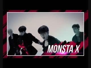 [181113] monsta x preview @ music bank in hong kong