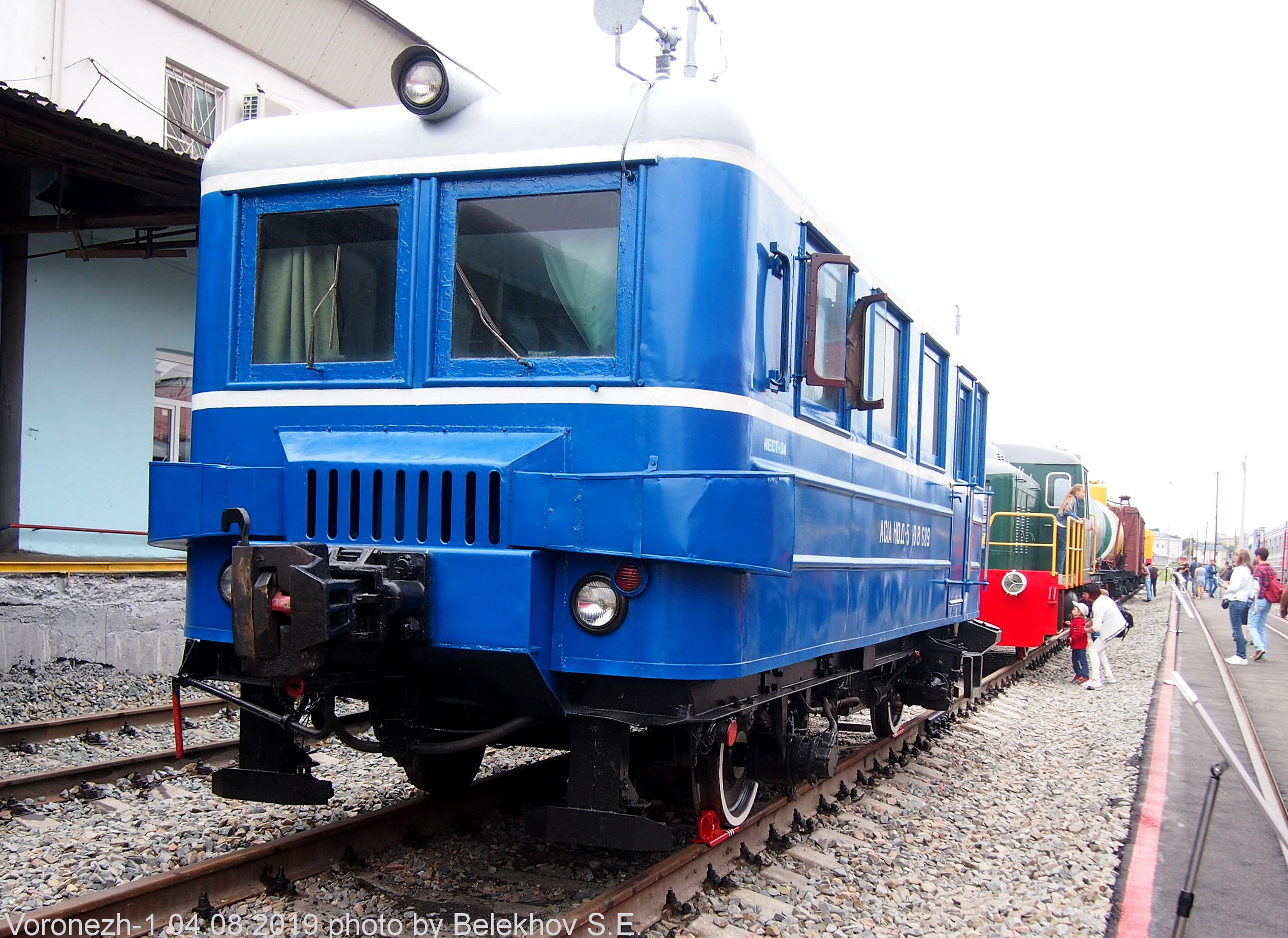Воронеж, железная дорога, ретро-поезда