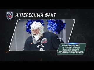 Выпускники МХЛ  Кирилл Устименко (Динамо СПб)