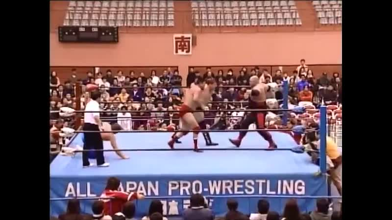 1999.12.02 - Stan Hansen/Akira Taue vs. Vader/Johnny Smith [FINISH]