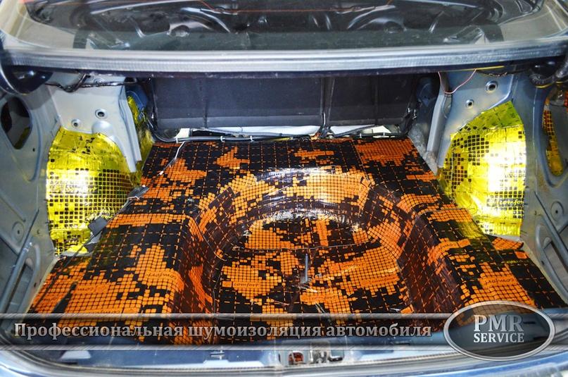 Шумоизоляция Nissan Almera, изображение №16