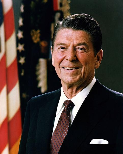 Рональд Рейган 40-й президент США от республиканской партии (1981-1989), в корне пересмотревший цели правительства США, положивший конец холодной войне с СССР. До избрания президентом бывший