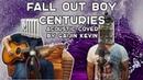 Gaijin Kevin аккустический кавер на Fall Out Boy Centuries Студия НАМБАВАН