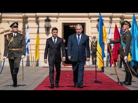 LIVE Спільний брифінг президента Зеленського і прем'єра Ізраїлю Нетаньягу