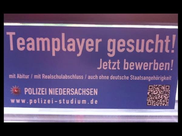 Polizei ist feige und verlässt das land und hinterlässt polizei ohne deutsche staatsbürgerschaft