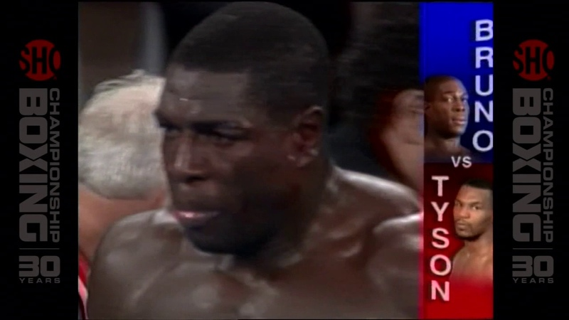 Mike Tyson vs Frank Bruno 2