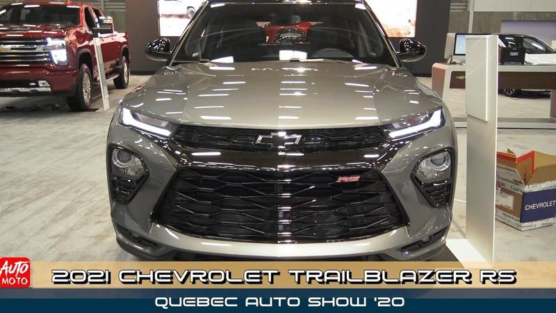 2021 Chevrolet Trailblazer RS AWD Exterior And Interior Quebec Auto Show 2020