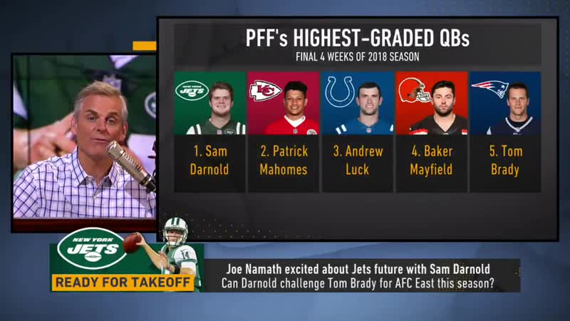 Patrick Mahomes over the next 12 years will be the best of all those QBs. Sam Darnold will be the 2nd best.