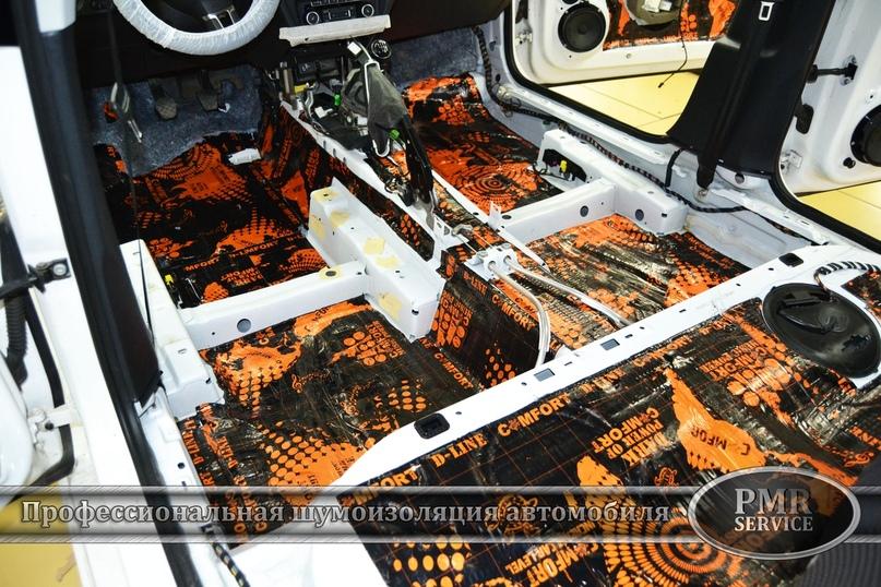 Комплексная шумоизоляция Volkswagen Jetta, изображение №3