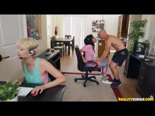 Aaliyah hadid [порно, hd 1080, секс, povd, brazzers, +18, home, шлюха, домашнее,