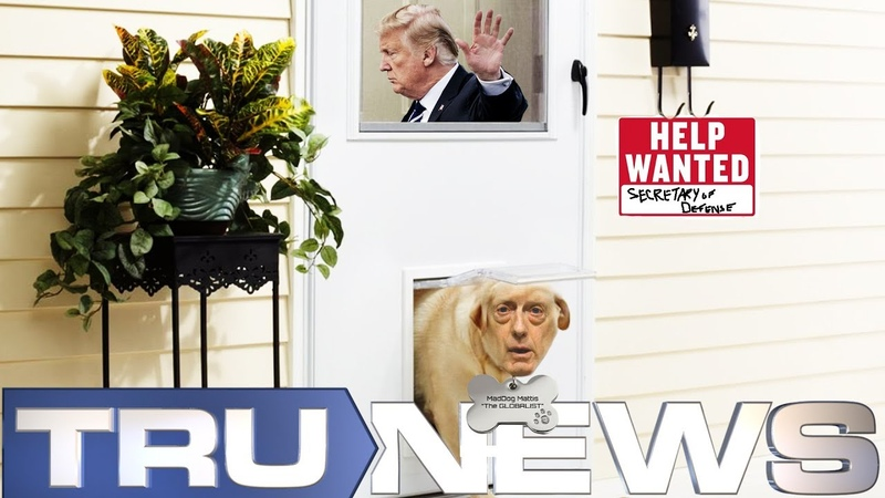 There's the Door President Trump Discovers Secretary Mattis is a Mad Dog Globalist