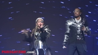 """Madonna Full performance backstage """"Like A Prayer"""" and  """"Future"""" with Quavo // Eurovision 2019"""