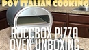 Unboxing My RoccBox Pizza Oven - POV Italian Cooking Special Episode