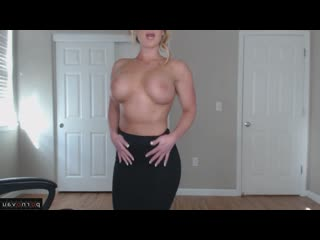 [ big boobs &  in the office / big ass , glasses , striptease , with the plot , boobs , milkings]