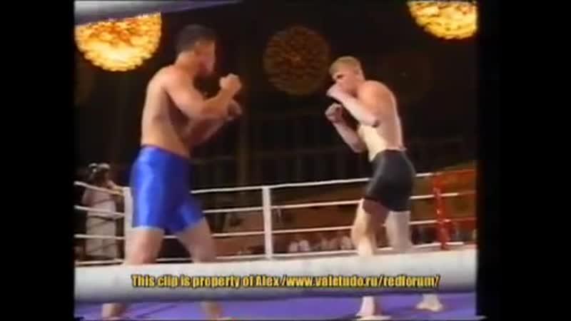 Sergei Kharitonov vs Zamir Syrgabayev (11.08.2000)Бой без перчаток.