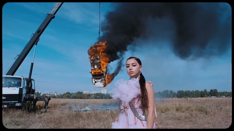 Charli XCX White Mercedes Official Video