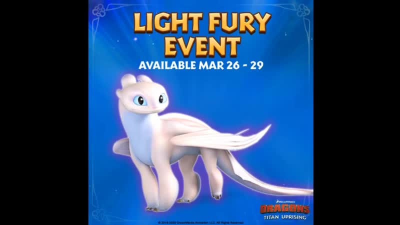Light Fury is back this week How many ⭐s does your Light Fury have
