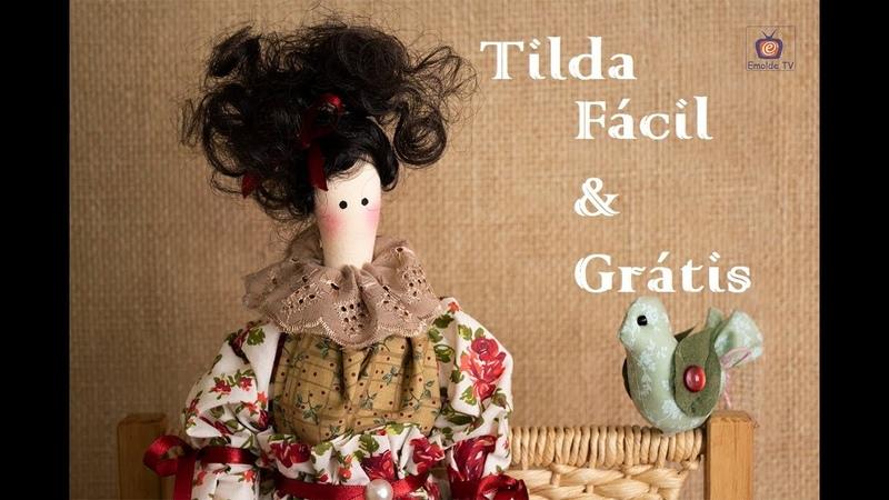 Emolde TV Vivi Prado recebe a artesã Joana Espera ensinando uma encantadora boneca Tilda