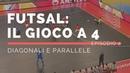 Futsal 4-0 [EP.2]: Attacco in diagonale e parallela