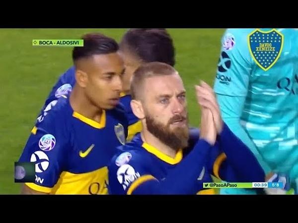 Boca 2 - 0 Aldosivi Paso a Paso - Superliga 2019/20