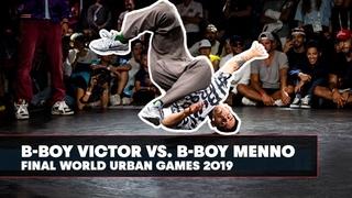 B-Boy Victor vs. B-Boy Menno | World Urban Games 2019 Final