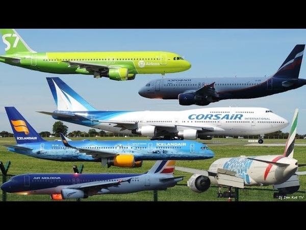 Plane Spotting at Dublin Airport 2019